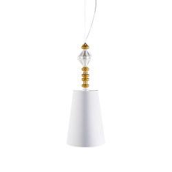 Belle de Nuit Ceiling Lamp I   Golden Luster (CE/UK)   Suspended lights   Lladró