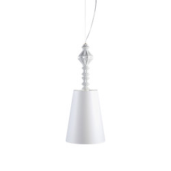 Belle de Nuit Ceiling Lamp I   White (CE/UK)   Suspended lights   Lladró