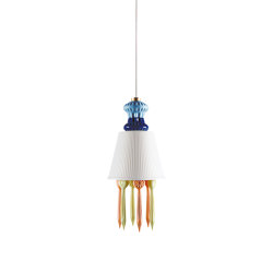Belle de Nuit Ceiling Lamp with Lithophane and Tears | Multicolor (CE/UK) | Suspended lights | Lladró