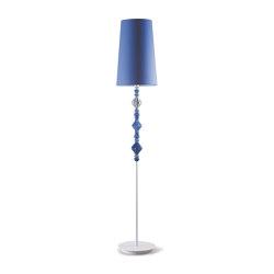 Belle de Nuit Floor Lamp II | Blue (CE) | Luminaires sur pied | Lladró