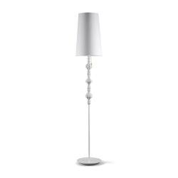 Belle de Nuit Floor Lamp II | White (CE) | Luminaires sur pied | Lladró