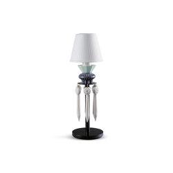 Belle de Nuit Lithophane Table Lamp with Tears | Black (CE) | Luminaires de table | Lladró