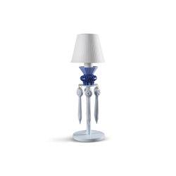 Belle de Nuit Lithophane Table Lamp with Tears | Blue (CE) | Luminaires de table | Lladró