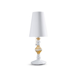 Belle de Nuit Table Lamp | Golden Luster (CE) | Table lights | Lladró
