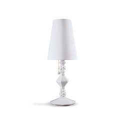 Belle de Nuit Table Lamp | White (CE) | Table lights | Lladró