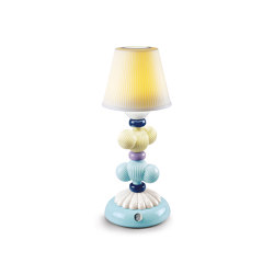 Firefly Cactus Table Lamp | Yellow and Blue | Luminaires de table | Lladró