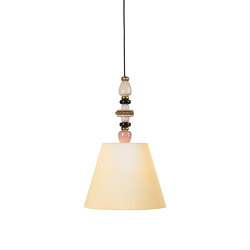 Firefly Ceiling Lamp | Pink and Golden Luster (CE/UK) | Suspensions | Lladró