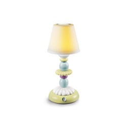 Firefly Lotus Table Lamp | Green and Blue | Luminaires de table | Lladró