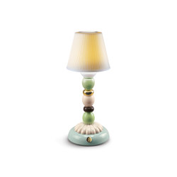 Firefly Palm Golden Fall Table Lamp | Green and Blue | Table lights | Lladró
