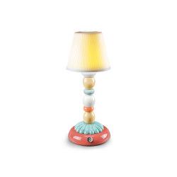 Firefly Palm Table Lamp | Pale Blue | Luminaires de table | Lladró