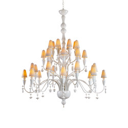 Ivy and Seed 32 Lights Chandelier | Large Model | White (CE/UK) | Chandeliers | Lladró