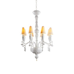 Ivy and Seed 8 Lights Chandelier | White (CE/UK) | Chandeliers | Lladró