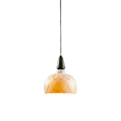Ivy and Seed Single Ceiling Lamp | Absolute Black (CE/UK) | Suspensions | Lladró