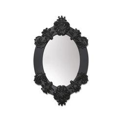 Mirrors | Oval Wall Mirror | Black | Limited Edition | Mirrors | Lladró