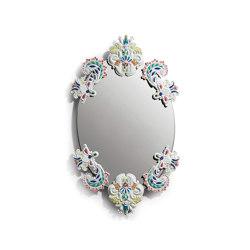 Mirrors | Espejo oval sin marco | Multicolor | Serie limitada | Espejos | Lladró