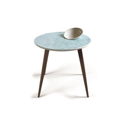 Moments Crystal Table With bowl | Wenge | Tables d'appoint | Lladró