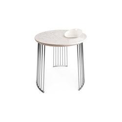 Moments Frost Table With bowl | Chrome metal | Tavolini alti | Lladró