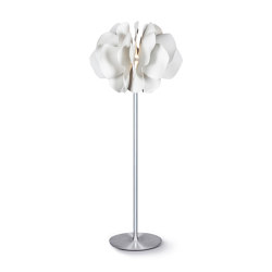 Nightbloom Floor Lamp | White (CE) | Free-standing lights | Lladró