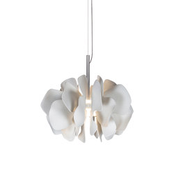 Nightbloom Hanging Lamp 40cm | White (CE/UK) | Suspensions | Lladró