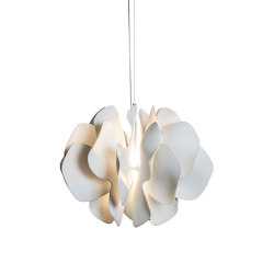 Nightbloom Hanging Lamp 60cm | White (CE/UK) | Suspensions | Lladró