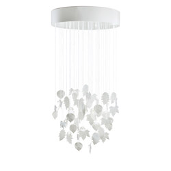 Re-cyclos Magic Forest Chandelier 0.80m (CE/UK) | White | Suspensions | Lladró