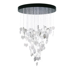 Re-cyclos Magic Forest Chandelier 1.10m (CE/UK) | White | Suspensions | Lladró