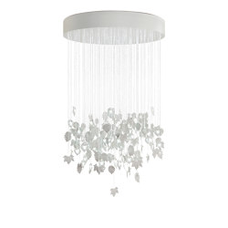 Re-cyclos Magic Forest Chandelier 1.35m (CE/UK) | White | Suspensions | Lladró
