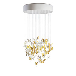 Re-cyclos Niagara Chandelier 0.80m | Golden Luster (CE/UK) | Suspended lights | Lladró