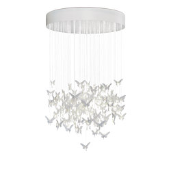 Re-cyclos Niagara Chandelier 1.35m (CE/UK) | Suspended lights | Lladró