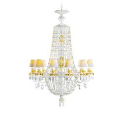 Winter Palace 12 Lights Chandelier | Golden Luster (CE/UK) | Chandeliers | Lladró