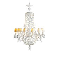 Winter Palace 12 Lights Chandelier | White | Chandeliers | Lladró