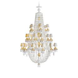 Winter Palace 30 Lights Chandelier | Golden Lustre (CE/UK) | Chandeliers | Lladró