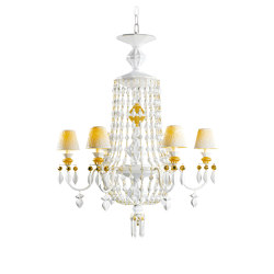 Winter Palace 6 Lights Chandelier | Golden Luster (CE/UK) | Chandeliers | Lladró