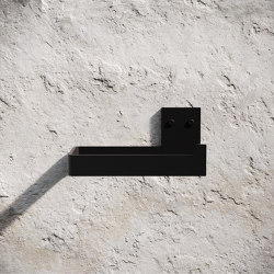 Toilet Paper Holder - Black | Paper roll holders | Nichba Design
