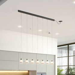 Drip/Drop Linear PF/07L | Suspended lights | BOVER