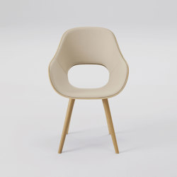 Roundish Arm chair (cushioned) | Chairs | MARUNI