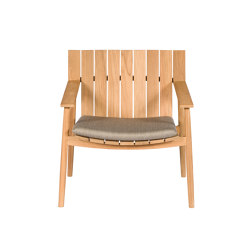Batten | Low Armchair | Sessel | Tectona