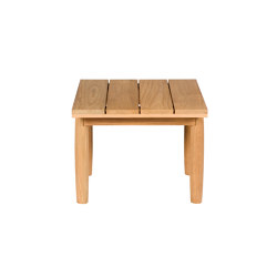 Batten | Square coffee table | Side tables | Tectona
