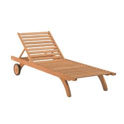 Camarat | Sunlounger XL | Sonnenliegen / Liegestühle | Tectona