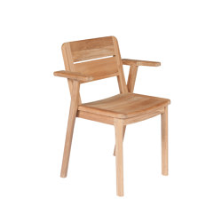 Clubhouse | Stacking armchair | Sessel | Tectona