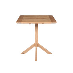 Clubhouse | Square table | Bistro tables | Tectona