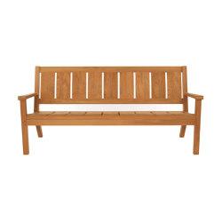 Exeter | Bench | Sitzbänke | Tectona