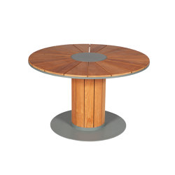 Iremo | Table ronde | Dining tables | Tectona