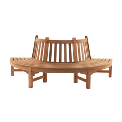 Circlebench | Semi circle bench | Benches | Tectona