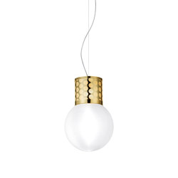 Atmosfera Suspension Gold | Suspended lights | Slamp
