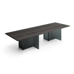 BIG WAVE table | Dining tables | Fiam Italia