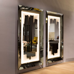 CAADRE WITH LIGHT mirror | Mirrors | Fiam Italia