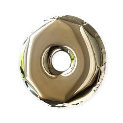 Rondo Mirror Heat Flamed Gold | Mirrors | Zieta