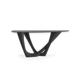 G-Console Duo Carbon Steel Graphite Grey | Tavoli pranzo | Zieta