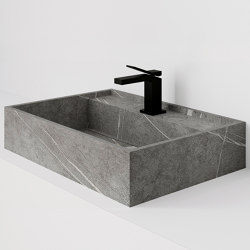 Hydra 60x43 Senda Gris Natural | Wash basins | INALCO
